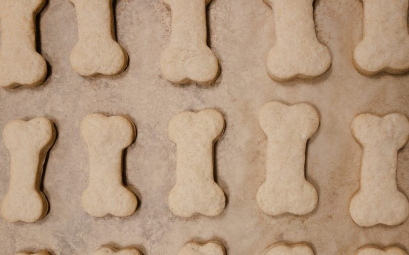 'I Ruff You' Puppy Biscuits